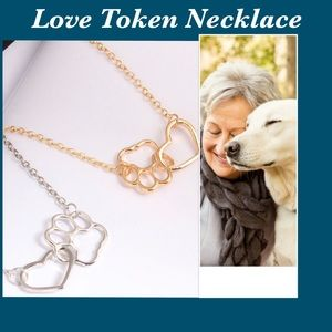 Jewelry - 🐾❤️14CT Gold plated.. HOLD MY HEART CLOSE ❤️ 🐾
